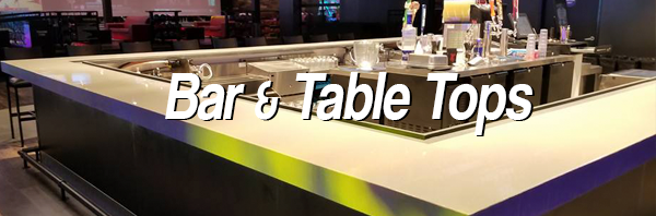 Bar and Table Tops