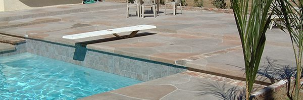 Pool Flagstones