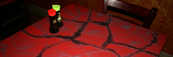 Red Earth Table