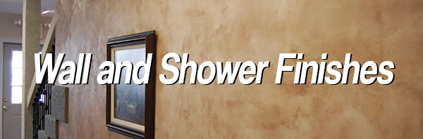 Wall and Shower