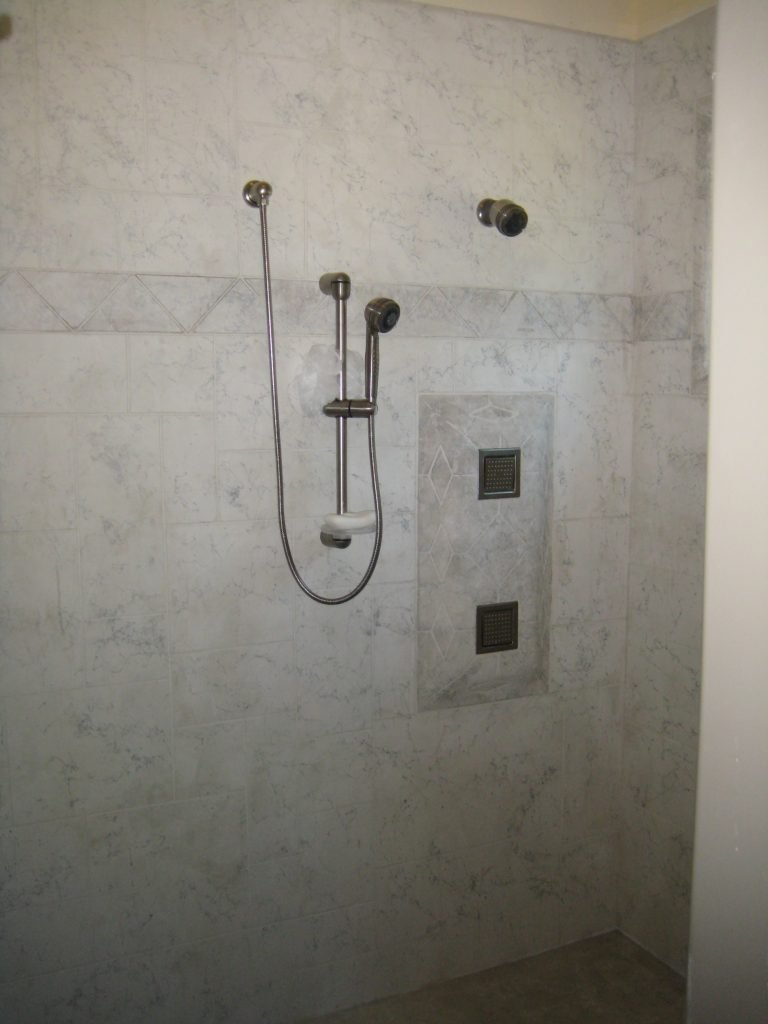 Walls and Showers